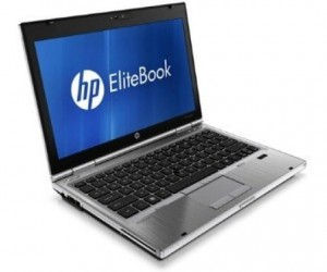 LAPTOP HP ELITEBOOK HP 2560P I5-2410M 2,3GHZ 4GB RAM 320GB HDD INTEL HD COA WIN7PRO 12,5LED
